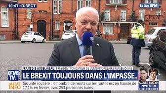 Entretien avec François Asselineau depuis Londres à propos du Brexit (VIDÉO)