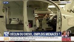 15 000 emplois seraient menacés en France avec le déclin du diesel