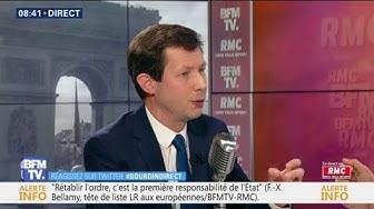 """Réduire le nombre de parlementaires ? """"C'est une erreur"""" (François-Xavier Bellamy)"""