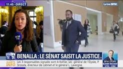 Le Sénat saisit la justice pour les cas de Benalla, Crase et de trois proches du Président