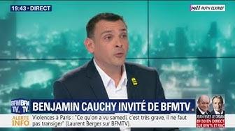 Européennes 2019 : Benjamin Cauchy annonce qu'il va s'associer à la liste de Nicolas Dupont-Aignan