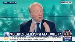 Tranquilou, Brice Hortefeux se dit favorable à une interdiction totale… de manifester ! (VIDÉO)