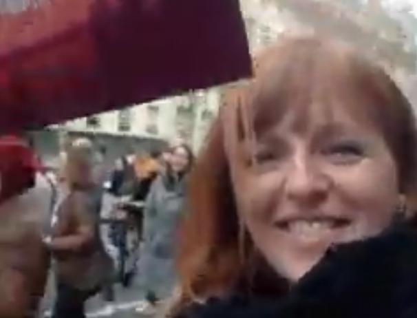 Décidément, elle bouffe à tous les râteliers : Ingrid Levavasseur à la marche des anti-changement climatique (VIDÉO)