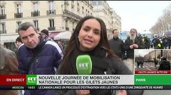 Le cortège parisien scindé en deux par les forces de l'ordre