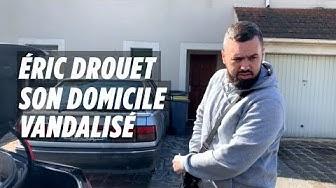 Domicile d'Éric Drouet vandalisé : « Le type qui a fait ça a eu de la chance que je ne tombe pas sur lui »