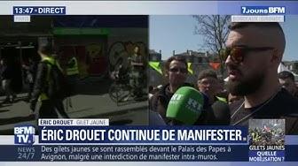 Gilets Jaunes : Éric Drouet annonce que des rassemblements sont prévus tout le mois d'avril (VIDÉO)