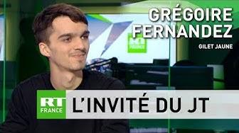 Grégoire, Gilet jaune : « Il y a une certaine lassitude car finalement rien ne change » (VIDÉO)
