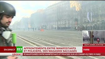 Un nouvel incendie d'immeuble s'est déclaré sur l'avenue des Champs-Élysées  (VIDÉO)