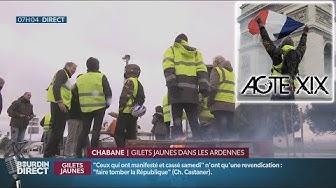 Karine bravera l'interdiction de manifester sur les Champs-Élysées pour l'Acte XIX (VIDÉO)