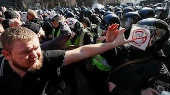 À Kiev, la droite populiste contre la corruption