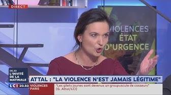 Furieuse de se faire couper la parole, Laetitia Dewalle, Gilet Jaune, menace de « se barrer » du plateau de LCI