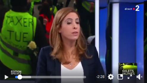 Gilets Jaunes : Natacha Polony VS Léa Salamé (VIDÉO)