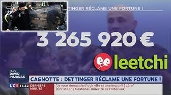 Christophe Dettinger veut faire cracher Leetchi à qui il réclame 3,2 millions d'euros pour avoir stoppé sa cagnotte