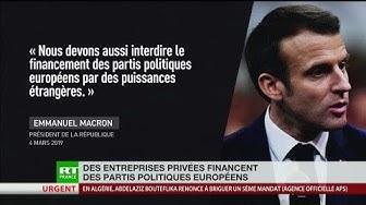Quand des entreprises privées financent des partis politiques européens (ANALYSE)