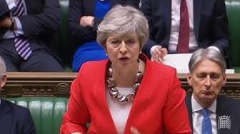 """""""Le Brexit pourrait être perdu"""" : Theresa May lance un avertissement aux députés britanniques (VIDÉO)"""