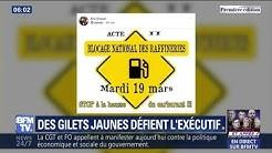 Après les annonces d'Édouard Philippe, des Gilets Jaunes préparent de nouveaux blocages