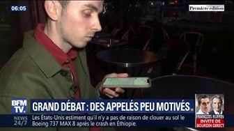 """9 Français sur 10 ont refusé d'assister à la conférence citoyenne pour clôturer le """"grand débat national"""""""
