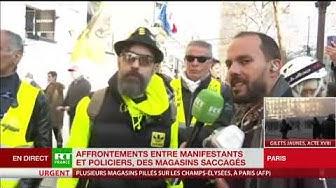 Jérôme Rodrigues : « La violence, elle vient du gouvernement, point barre ! »