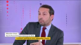 """Sébastien Chenu : """"Avec ce gouvernement, c'est toujours la faute des autres"""""""