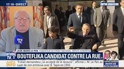"""Jean-Marie Le Pen : """"Bernard Tapie était demandeur, c'est moi qui ai accepté de le recevoir"""" (VIDÉO)"""