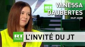 Vanessa Daubertes, Gilet Jaune : « On n'est toujours pas vus, toujours pas entendus » (VIDÉO)