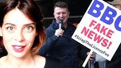 """#PanoDrama : Tommy Robinson dévoile les """"Fake News"""" de la BBC (Virginie Vota)"""