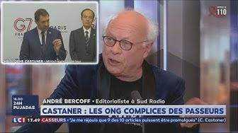 André Bercoff sur la complicité ONG / Passeurs (enfin !) dénoncée par Christophe Castaner : « Ceux qui disaient ça étaient traités de fachos » (VIDÉO)