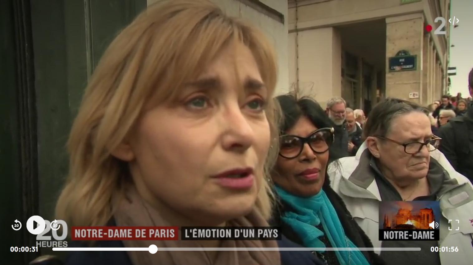Incendie de Notre-Dame de Paris : l'émotion a traversé toute la France (VIDÉO)