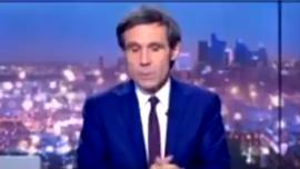 """Incendie de Notre-Dame de Paris : """"au moins deux foyers"""" selon David Pujadas (LCI)"""
