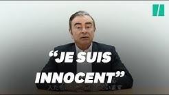 """Carlos Ghosn accuse des dirigeants de Nissan de """"trahison"""" et de """"conspiration"""" (VIDÉO)"""
