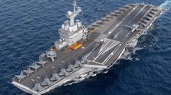 Charles de Gaulle : un porte-avions modernisé (REPORTAGE)