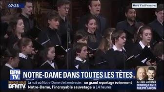 Les choristes de Notre-Dame de Paris, orphelins après l'incendie (VIDÉO)