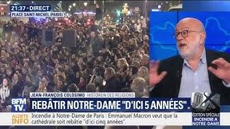 """Notre-Dame de Paris : """"Si on veut refaire une charpente en chêne, cela prendra plus de 5 ans"""" (Jean-François Colosimo)"""