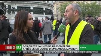 Discours de Macron : pour les Gilets Jaunes, « il n'y a rien de concret » (VIDÉO)