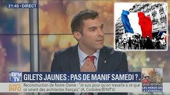 Julien Odoul ne veut pas de trêve des Gilets Jaunes car les Français souffrent (VIDÉO)