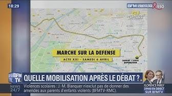 Acte XXI des Gilets Jaunes : Voici les 2 principales manifs prévues à Paris ce samedi 6 avril