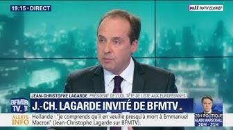 """Jean-Christophe Lagarde : """"Je ne veux pas que l'on taxe les GAFA car au final, c'est nous qui allons payer"""""""