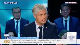 Laurent Wauquiez appelle à une baisse de 10% de l'impôt sur le revenu pour tous ceux qui le payent (VIDÉO)