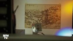 Léonard de Vinci peignait aussi bien de la main droite que de la main gauche