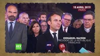 Calendrier Macron 2019.Notre Dame Macron Appele A Considerer Le Savoir Faire