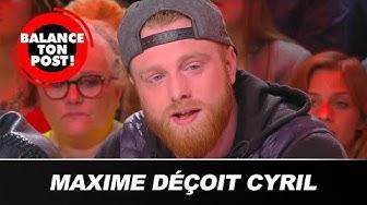 "Cyril Hanouna ""déçu"" par Maxime Nicolle (VIDÉO)"