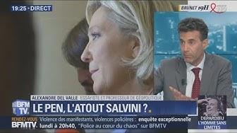 Alexandre Del Valle : « Marine Le Pen est très bien vue en Italie » (VIDÉO)