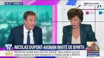 """Nicolas Dupont-Aignan à propos de l'incendie de Notre-Dame : """"Il n'y a aucune hypothèse à privilégier""""… ou à exclure (VIDÉO)"""
