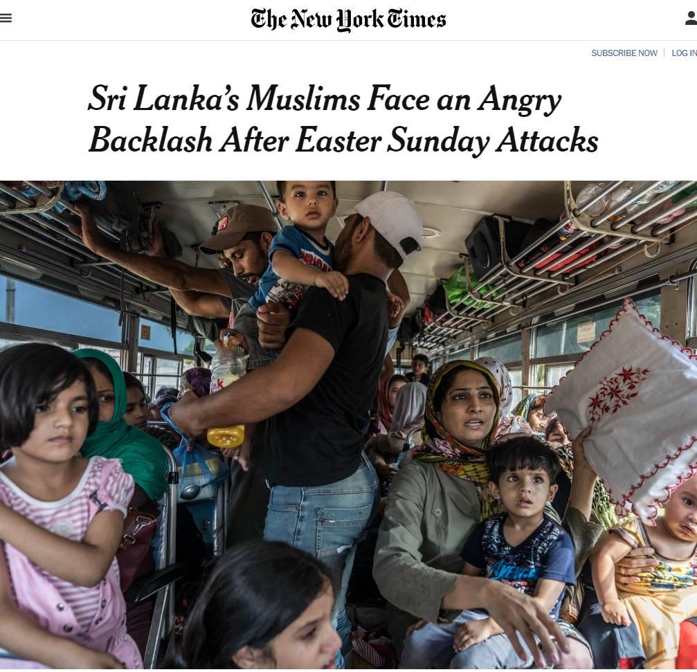 Pauvres musulmans du Sri Lanka : quand la presse gauchiste veut coûte que coûte nous faire verser une larme sur les mahométans