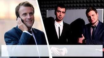 """""""Allo, monsieur le président ?"""" : deux célèbres humoristes russes affirment avoir piégé Emmanuel Macron (AUDIO)"""