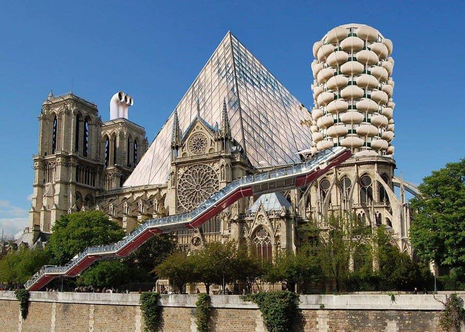 Notre-Dame rêvée par Macron et Cie
