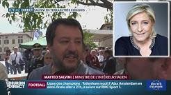 Matteo Salvini : « Marine Le Pen est la meilleure pour la France et l'Europe »