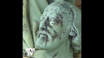 Notre-Dame de Paris : les 16 statues de la flèche miraculées (VIDÉO)