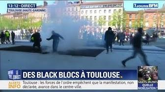 Toulouses : des images des tensions entre Gilets Jaunes et forces de l'ordre (VIDÉOS)