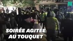 Au Touquet, des gilets jaunes se réunissent devant la villa des Macron (VIDÉO)